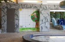 drzwi na basenie dla dzieci