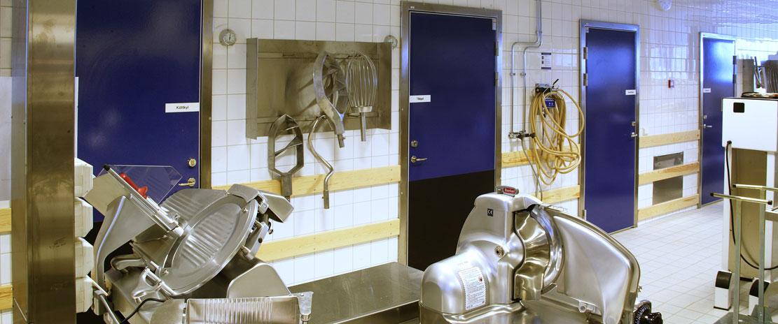 Drzwi chłodnicze dla resturacji