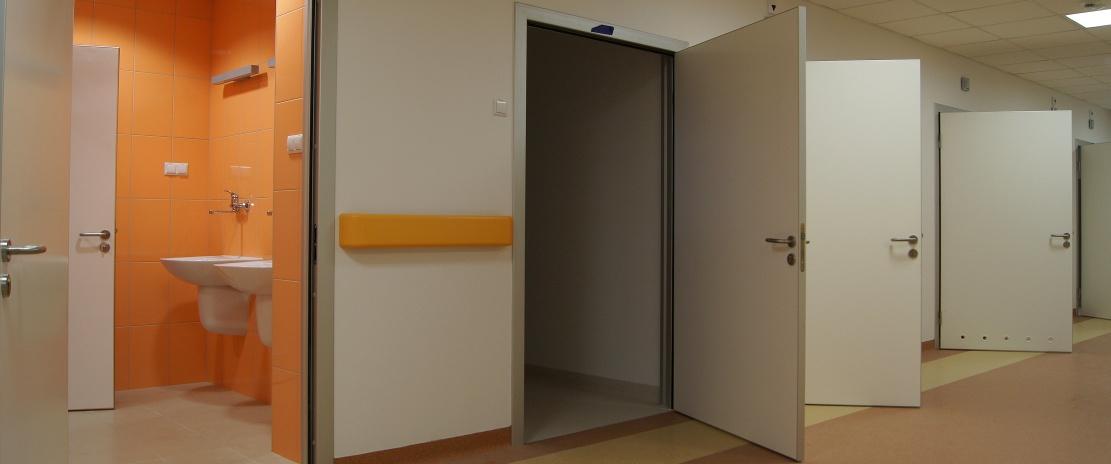 Drzwi higieniczne dla sektora publicznego