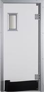 Drzwi w kolorze jasnoszarym RAL 9010
